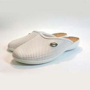 Тапочки белые Аданекс