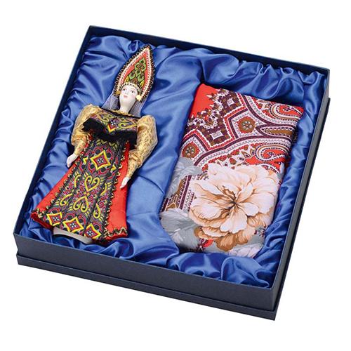 Подарочный набор Катерина: кукла, платок