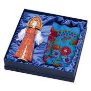 """Подарочный набор """"Марфа"""": кукла, платок"""