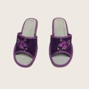 Тапочки домашние женские Беларусь ОМ-05 фиолетовый