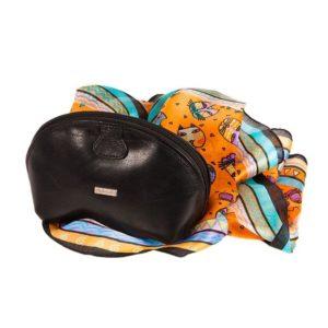 Подарочный набор: шарф, косметичка Diplomat