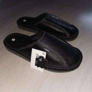 Тапочки домашние кожаные new
