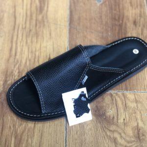 Тапочки домашние кожаные ОМ new